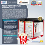 Jual Mesin Popcorn Plus Display (POP33) di Palembang