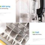Jual Mesin Slush (Es Salju) dan Juice – SLH01 di Palembang