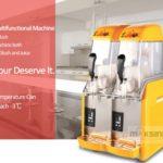 Jual Mesin Slush (Es Salju) dan Juice – SLH02 di Palembang