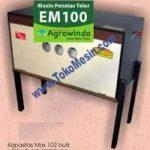 Jual Mesin Penetas Telur Manual 100 Telur (EM-100) di Palembang