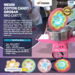 Mesin Cotton Candy + Grobak