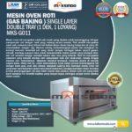 Jual Mesin Oven Roti Gas (MKS-GO11) di Palembang