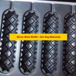 Jual Mesin Stick Waffle (hot dog wafel) di Palembang