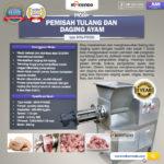 Jual Pemisah Tulang dan Daging Ayam PTA500 di Palembang