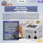Jual Mesin Bread Toaster (Roti Bakar-D04) di Palembang