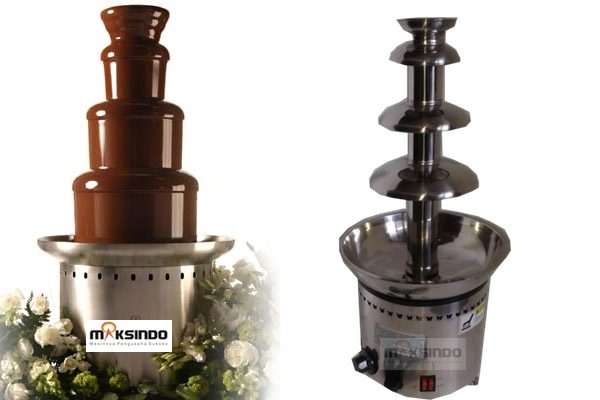 Jual Mesin Chocolate Fountain 6 Tier (MKS-CC6) di Palembang