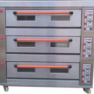 Jual Mesin Oven Roti Gas 3 Rak 9 Loyang (GO39) di Palembang