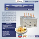 Jual Mesin Pemasak Mie 6 Lubang (Gas, MKS-PC6) di Palembang