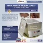 Jual Mesin Pencair Peleleh Coklat (CKL62) di Palembang