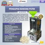 Jual Mesin Pengupas Bawang Putih (BWG180) di Palembang