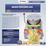 Jual Mesin Popcorn Gas (MKS-POP10) di Palembang
