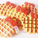 Jual Mesin Waffle Bentuk Hello Kitty (Kitty2) di Palembang