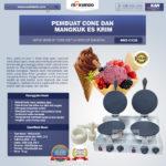 Jual Pembuat Cone dan Mangkuk Es Krim (CIC22) di Palembang