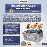 Jual Mesin Waffle Taiyaki Open Mouth (ETYK3) di Palembang