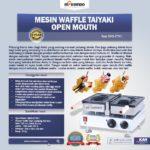 Jual Mesin Waffle Taiyaki Open Mouth (ETYK1) di Palembang