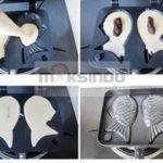 Jual Mesin Kue Waffle Ikan Taiyaki – Gas (TYK02) di Palembang