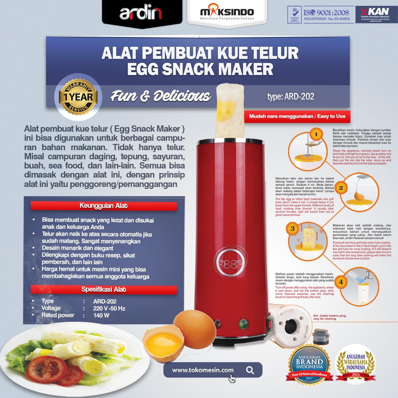 Jual Egg Roll Snack Telur Rumah Tangga ARDIN di Palembang
