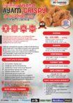 Training Usaha Ayam Crispy, 16 September 2017