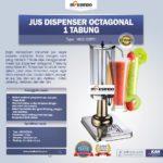 Jual Jus Dispenser Octagonal 1 Tabung (DSP31) di Palembang
