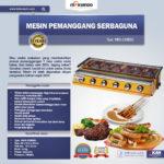 Jual Mesin Pemanggang Sate – BBQ 6 Tungku (Gas) Di Palembang