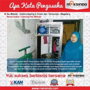 Catering Pak Widodo : Mesin Maksindo Meningkatkan Produksi