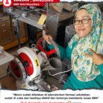 SMK Bela Nusantara : Mesin Cetak Tablet Listrik Sangat Efektif