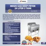 Jual Gas Deep Fryer 24 Liter 2 Tank (G74) Di Palembang