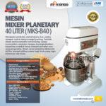 Jual Mesin Mixer Planetary 40 Liter (MKS-B40) di Palembang
