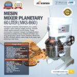 Jual Mesin Mixer Planetary 60 Liter (MKS-60B) di Palembang