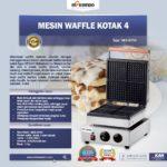 Jual Mesin Waffle Kotak 4 (WF04) di Palembang