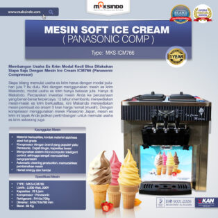 Jual Mesin Soft Ice Cream ICM766 (Panasonic Comp) di Palembang