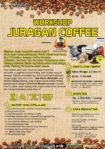 Workshop Juragan Coffee, 2-3 Desember 2017