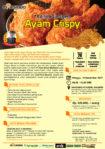 Training Usaha Ayam Crispy, 10 Desember 2017