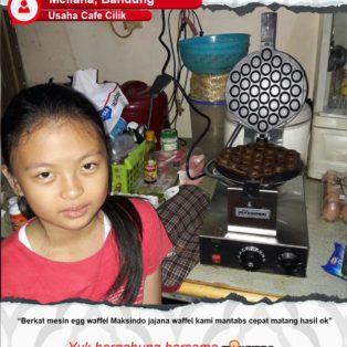 Usaha Cafe Cilik : Mesin Egg Waffle Mantap