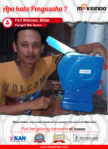 Pangsit Mie Ayam : Produksi Mie Pangsit Menjadi Mudah Memakai Mesin Mie
