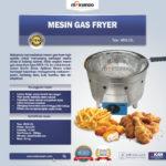 Jual Mesin Gas Fryer MKS-15L di Palembang