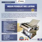 Jual Mesin Pembuat Mie Listrik – MKS-140 di Palembang