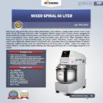 Jual Mixer Spiral 60 Liter (MKS-SP60) di Palembang