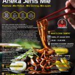 Training Usaha Aneka Jenis Mie, 27 Januari 2018