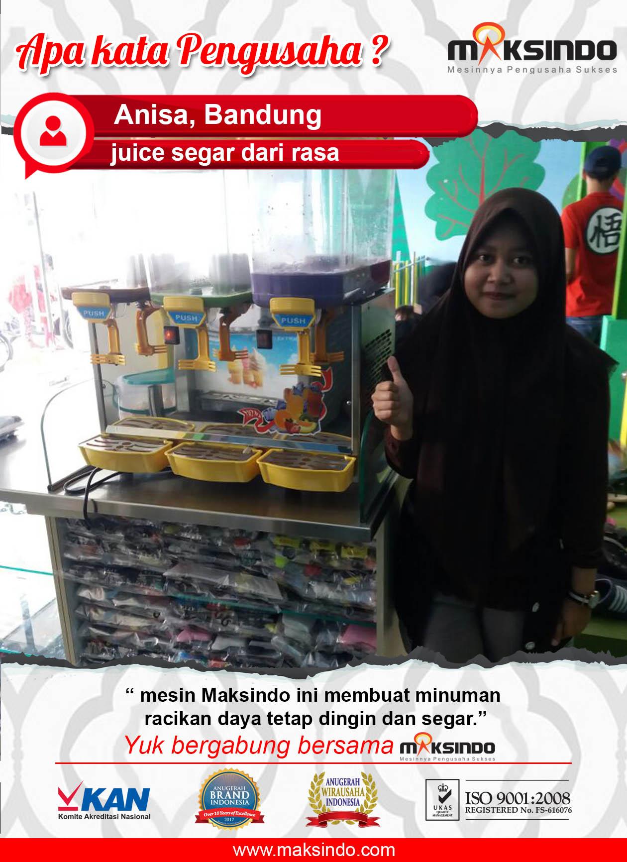 Juice Segar Dari Rasa : Mesin Maksindo Membuat Minuman Menjadi Segar