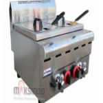 Jual Counter Top 2-Tank 2-Basket Gas Fryer di Palembang