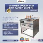 Jual Gas Pasta Cooker With Bain Marie (4 Baskets) MKS-PCBM4 di Palembang