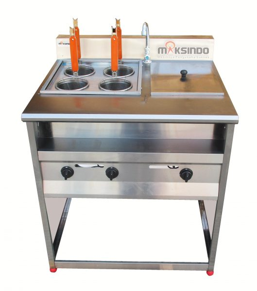Jual Gas Pasta Cooker With Bain Marie (4 Baskets) MKS-PCBM4 di Palembang