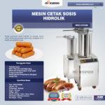Jual Mesin Cetak Sosis Hidrolik MKS-HDS280 di Palembang