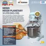 Jual Mesin Mixer Planetary 30 Liter (MKS-30B) di Palembang