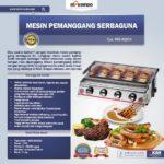 Jual Pemanggang BBQ Stainless (gas) 4 Tungku di Palembang