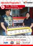 Sate dan Ayam Bakar Bu Ana : Mesin Pemanggang Dari Maksindo Mampu Memanggang Dengan Merata