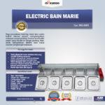Jual Electric Bain Marie MKS-BMR5 (Penghangat Masakan) di Palembang