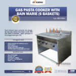 Jual Gas Pasta Cooker With Bain Marie (6 Baskets) MKS-PCBM6 di Palembang