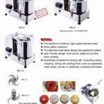 Jual Mesin Giling Bumbu (Universal Fritter) MKS VGC12 di Palembang